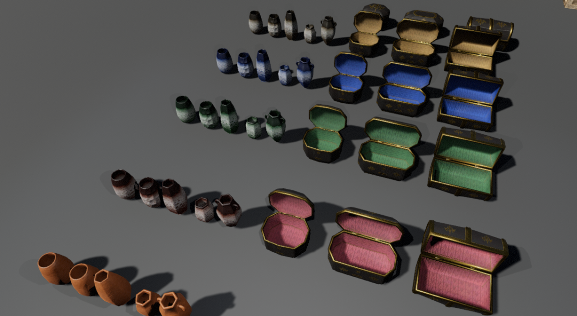 Small containers variations