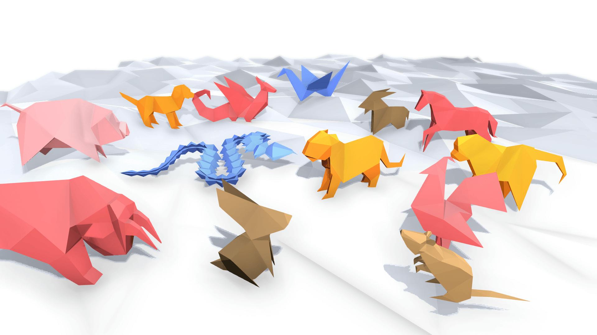 origami naimals