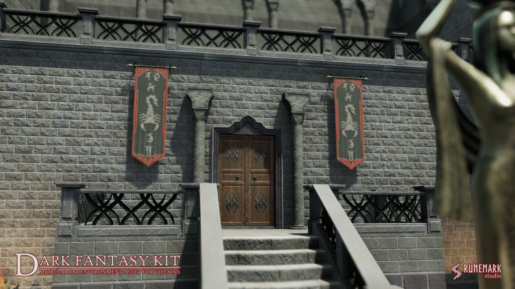 Dark Fantasy Kit - castle of the vampire