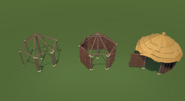Modular huts