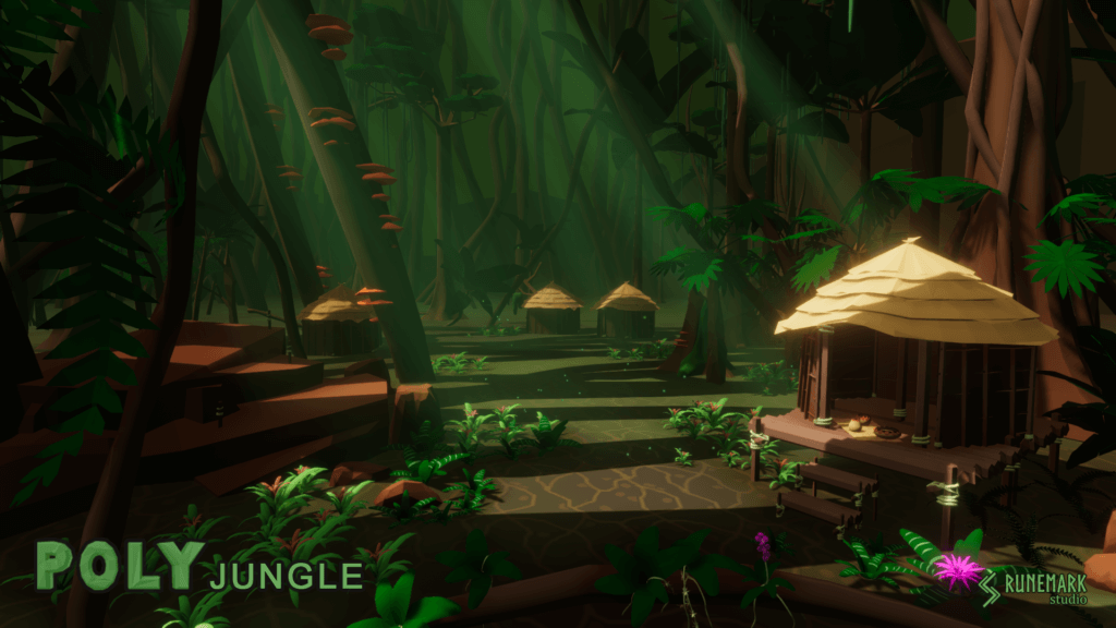 our POLYJungle asset pack