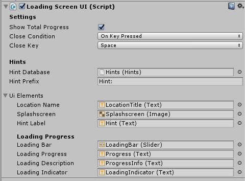scema loading screen inspector