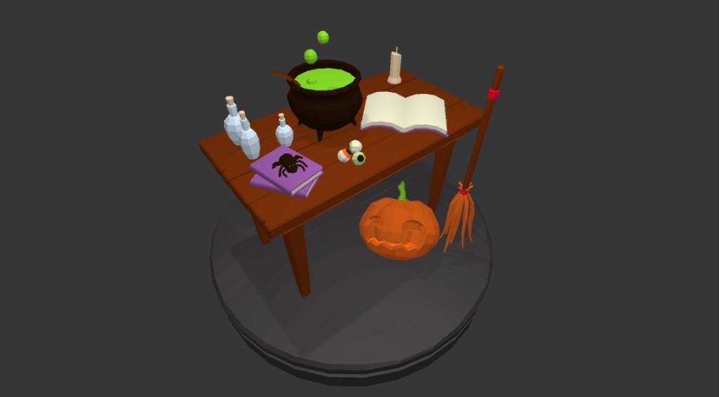 Halloween addon for POLYSwamp
