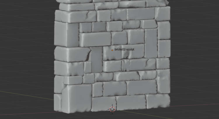 first try at walls